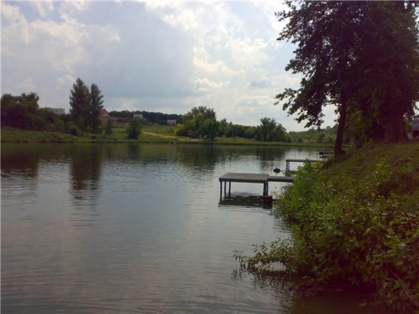 Березовка, карта, рыбалка