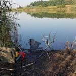С. Очеретоватое, карта, рыбалка