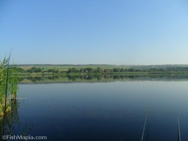 Пос.Зеленивка, карта, рыбалка