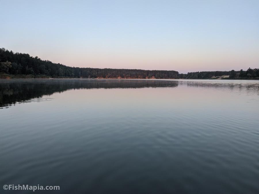 Голубые Озера, карта, рыбалка