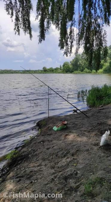Карьер СМУ, карта, рыбалка
