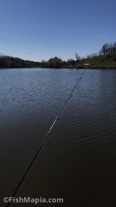 """Пруд """"Юга"""". Клевое место!, карта, рыбалка"""