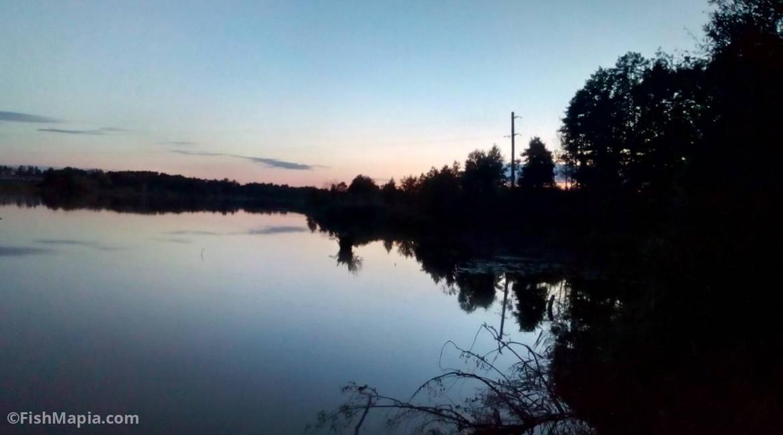 Пиндюры, карта, рыбалка