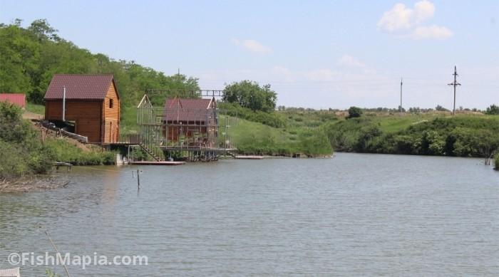 база Донские озера, карта, рыбалка