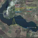 Старобешевское водохранилище (п. Новый Свет), карта, рыбалка