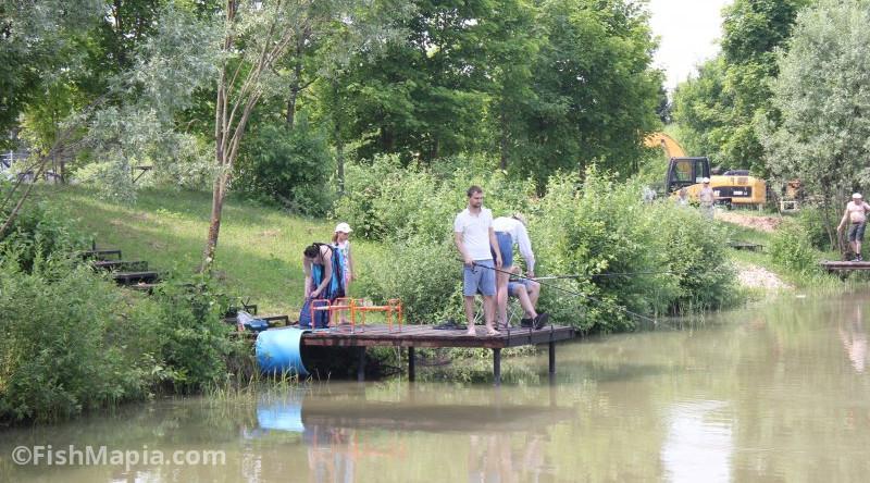 """Рыболовная база """"Радищевские пруды"""", карта, рыбалка"""