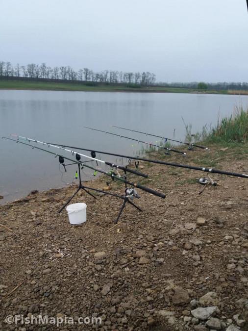 Богачи, карта, рыбалка